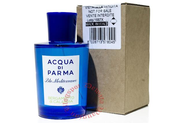 ACQUA DI PARMA Blu Mediterraneo Bergamotto di Calabria Tester Perfume