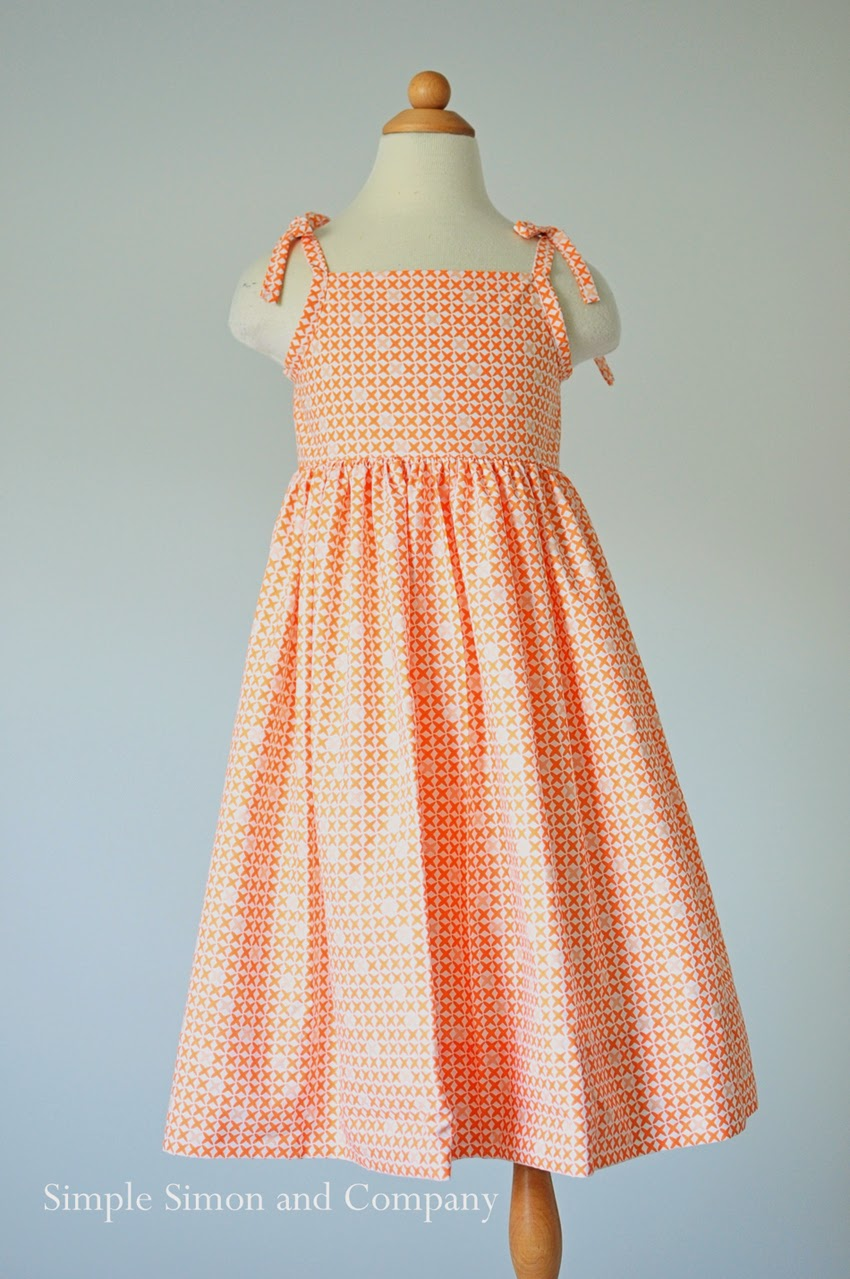 Easy Sewing Projects For Beginners: Free Sundress Sewing Pattern