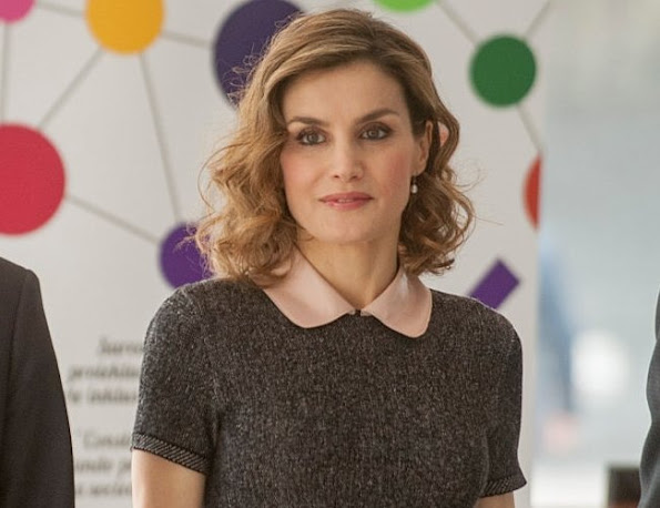 Queen Letizia of Spain attends a congress on rare diseases  in Bilbao, Spain