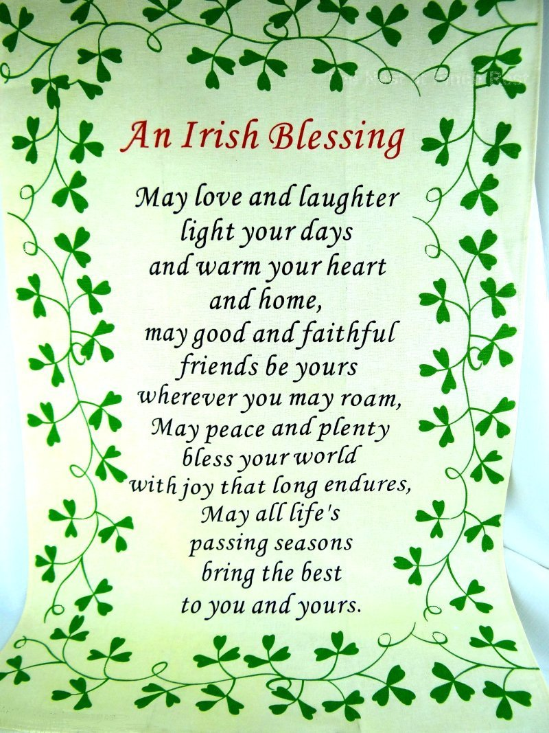 Nubia group inspiration sharing irish blessings from for Pictureframes net