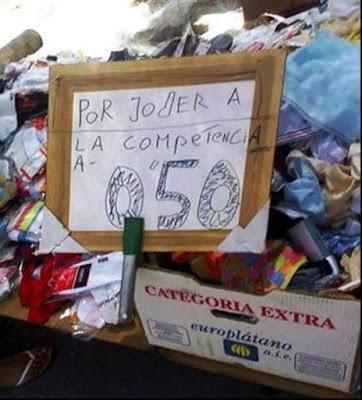 Ropa, por joder a la competencia a 0.50€