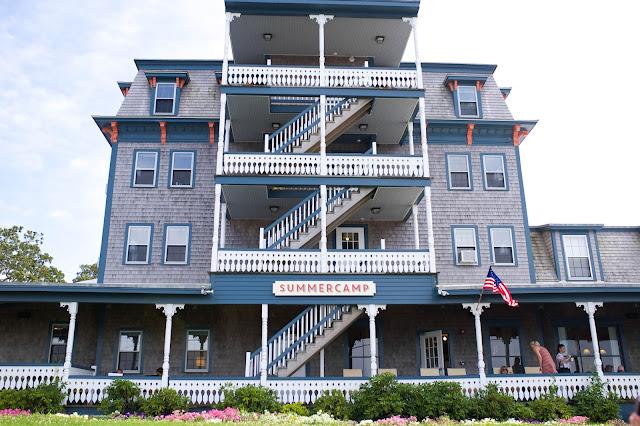 Summercamp Hotel on Martha's Vineyard, Massachusetts