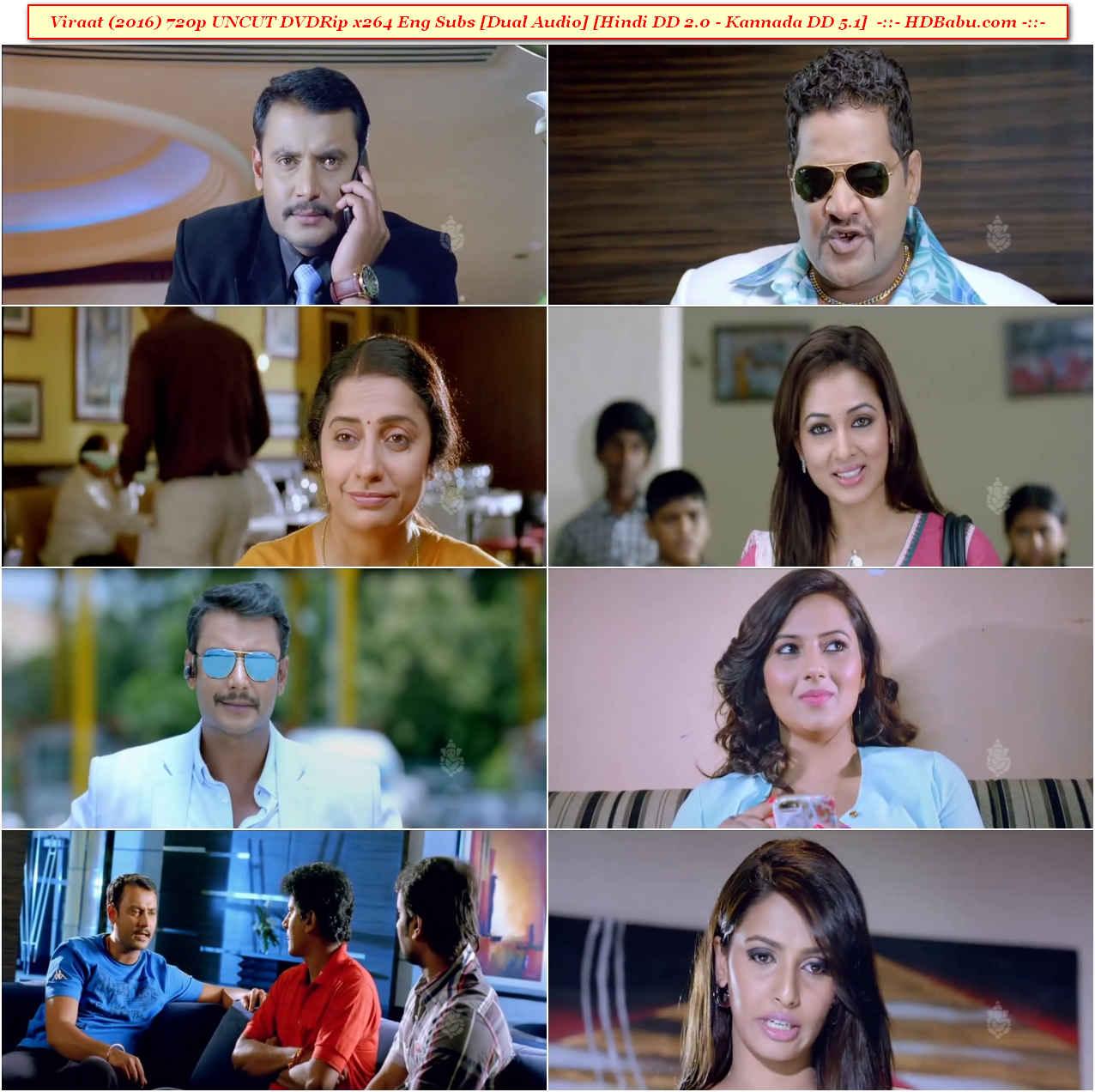Viraat Hindi Dual Audio Full Movie Download