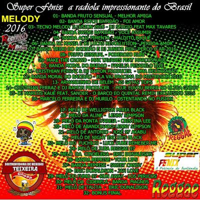 Cd Super Fênix a radiola impressionante do Brasil vol.01 14/05/2016