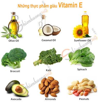 Những thực phẩm giàu Vitamin E