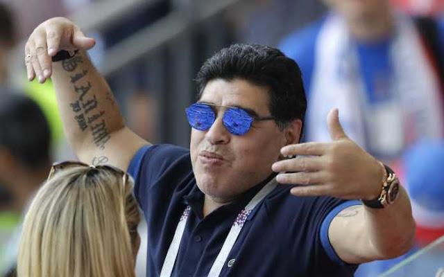Ditegur FIFA, Maradona Minta Maaf Atas Kritiknya
