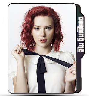 Red Hair girl Scarlett Johansson, Celebrity icons, Actress icons, , Scarlett Johansson folder icon, Scarlett Johansson celebrity icon.