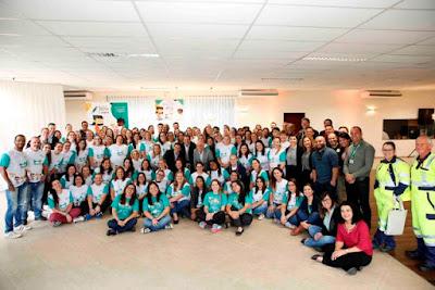 Educadores participam de capacitação promovida pelo Projeto Escola Arteris e Viva Meio Ambiente