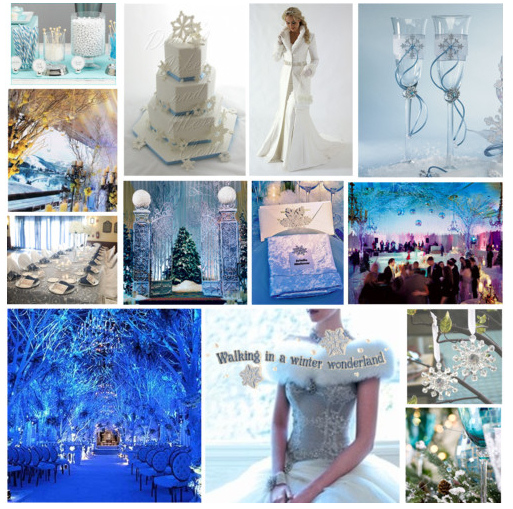 Winter Wedding Colors: Nashville Event Planning: Winter Event Inspiration