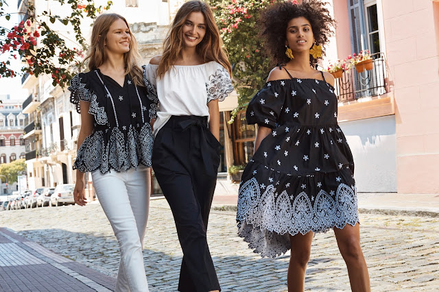Black and white dominate in H&M's Spring 2018 campaign