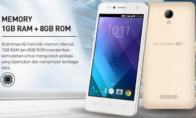 Smartfren Andromax A2 4G LTE Nougat