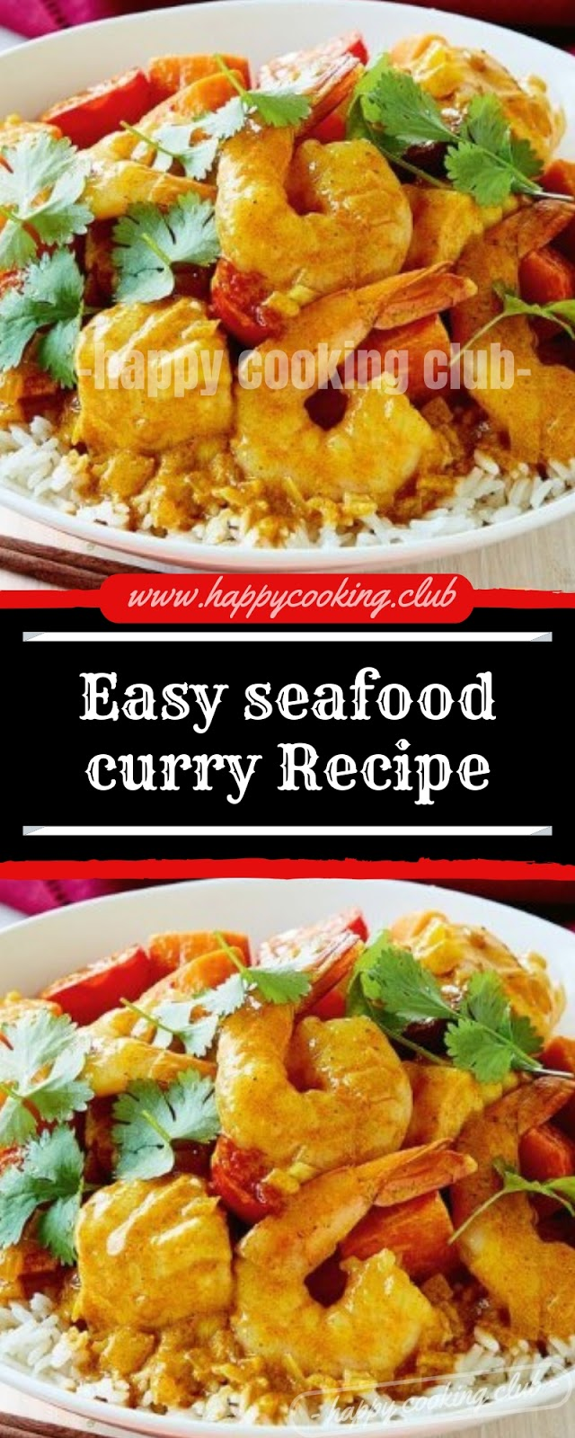 Easy seafood curry Recipe