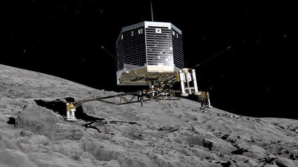 Humanidade faz aterragem histórica em cometa