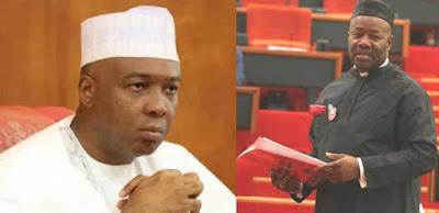 PDP Writes Saraki To Declare Akpabio's Seat Vacant