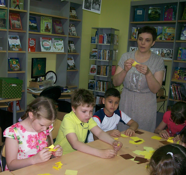 Самарская областная детская библиотека (интересное лето), будет мышка из бумаги есть бумажный сыр)