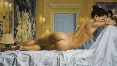Hiperrealismo Oleo Desnudo Artisticos