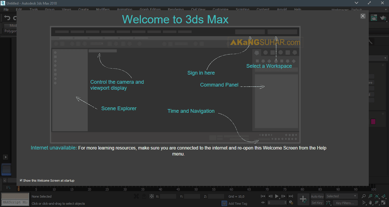 Free Download Autodesk 3ds Max 2018 Full Version Terbaru