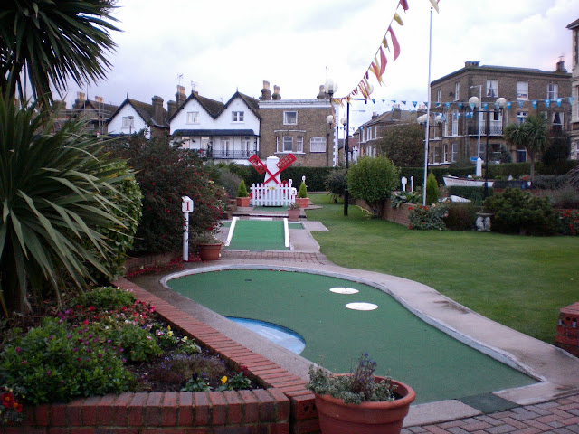 The Arnold Palmer Putting Course in Broadstairs