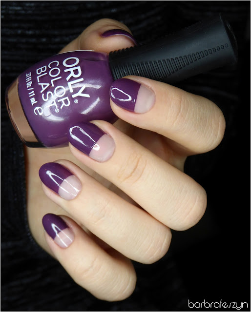 Orly Color Blast #Purple Matte Satin