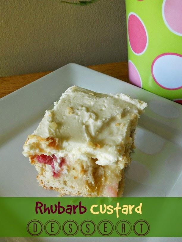 rhubard custard dessert (sweetandsavoryfood.com)