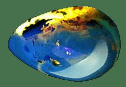 ambar azul propiedades gema | foro de minerales