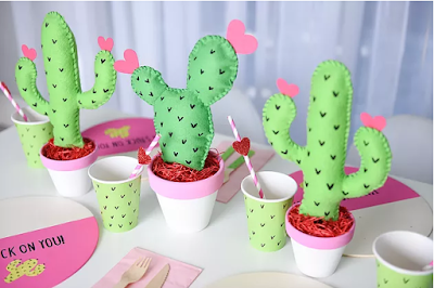 Free cactus party printables
