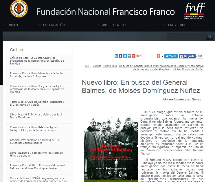 Balmes, Wikipedia, Stalin y Franco. | Badajoz y la Guerra (in) Civil