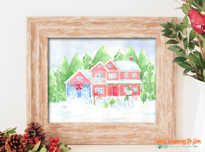 Home for the Holidays Printables