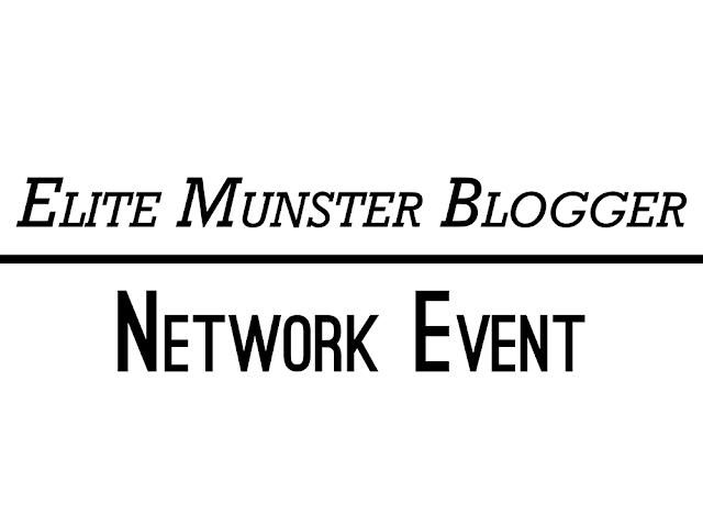 "Text reading ""Elite Munster Blogger Network Event"""