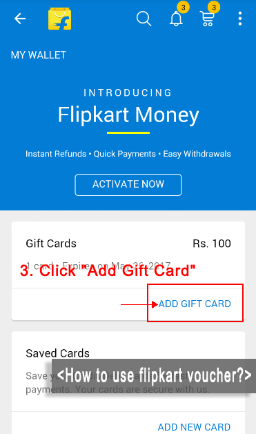 how to add gift card balance to online account chapters