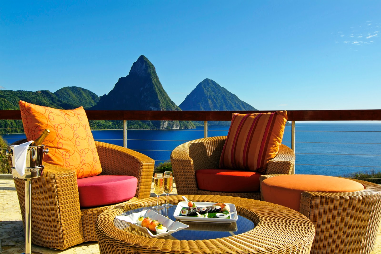 Jade Mountain, Stlucia