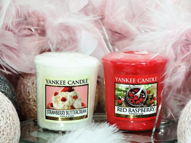 Avis Strawberry Buttercream & Red Raspberry de Yankee Candle, blog bougie, blog beauté