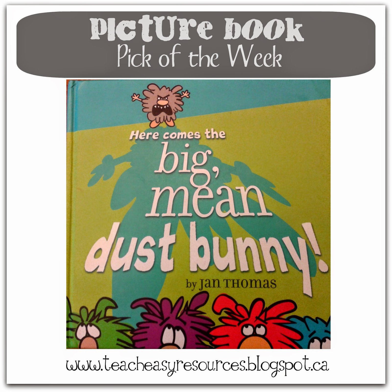 Teach Easy Resources Picture Book Pick Of The Week