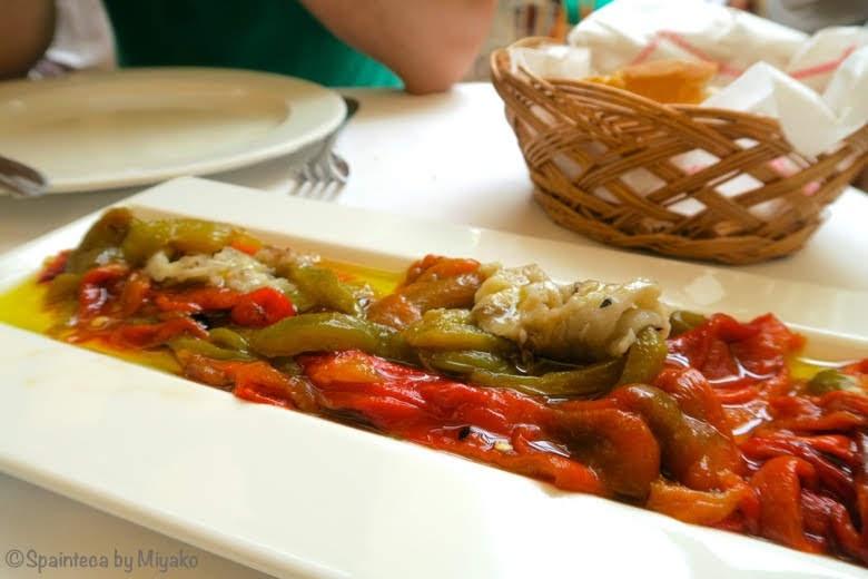 CASA FEDERICO Torat トラット バレンシアの郷土料理の野菜グリル