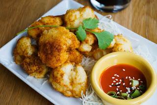 vegan appetizer from Kati Vegan Thai