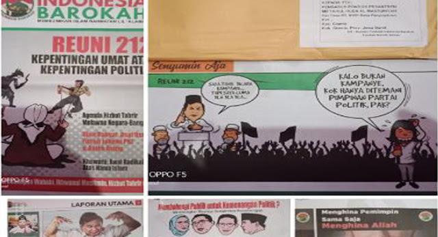 Tabloid Fitnah Disebar, BPN Prabowo-Sandi: Kubu Jokowi-Ma'ruf Tabuh Genderang Perang