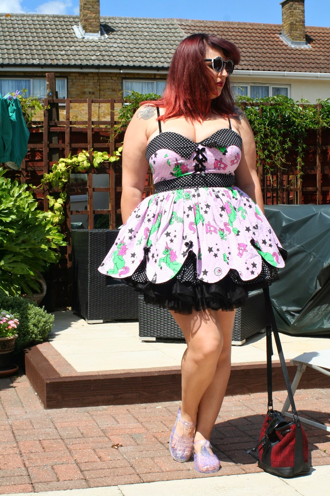 51a8e9058ca9 Dress: Hell Bunny (similar here and here)
