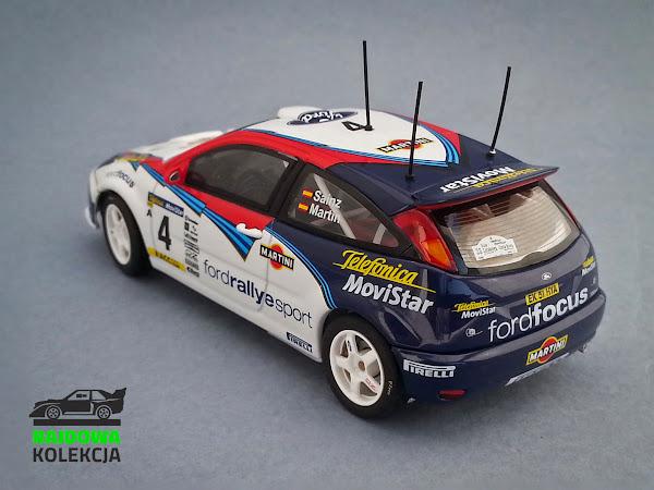 AUTOart Ford Focus RS WRC02 Rallye Catalunya Costa Brava Rallye de Espana 2002