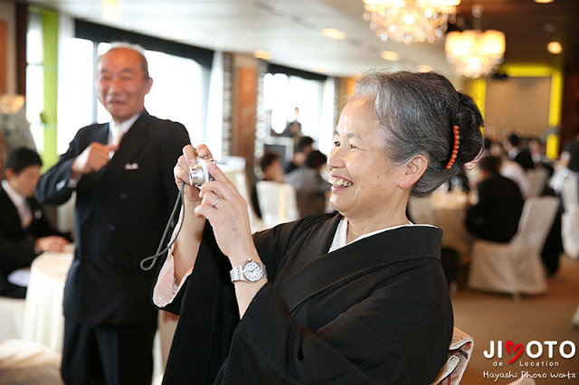 ホテル日航大阪でのご結婚式の撮影
