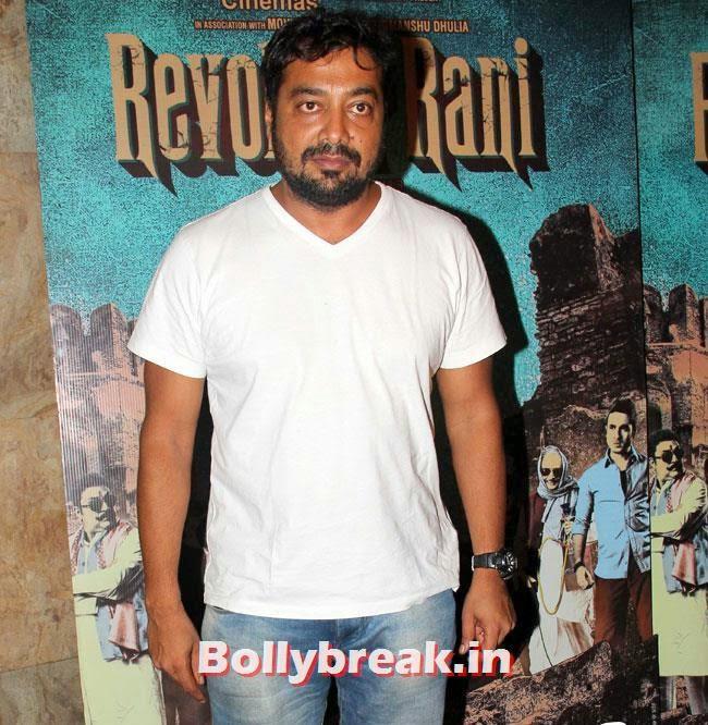 Anurag Kashyap, Kangana Ranaut at Revolver Rani Special Screening at Lightbox
