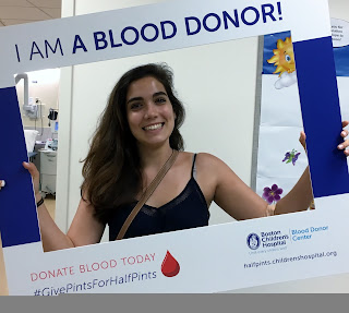 Children's Hospital Blood mobile - today from 1 to 6 PM