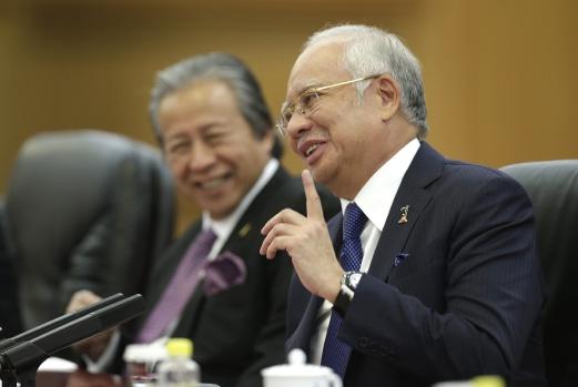 RM143.64b MoU Dimeterai Dengan China – Najib