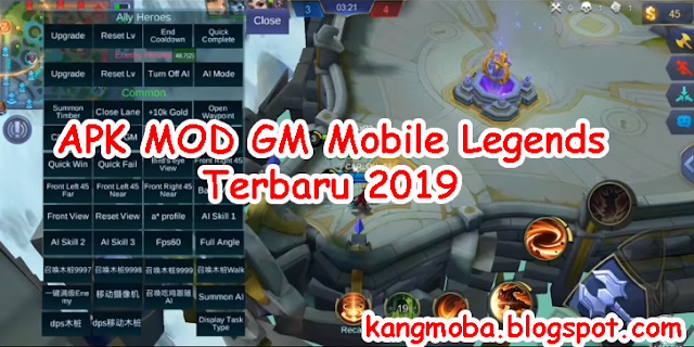 Download APK MOD GM Mobile Legends Februari 2019 - KangMoba