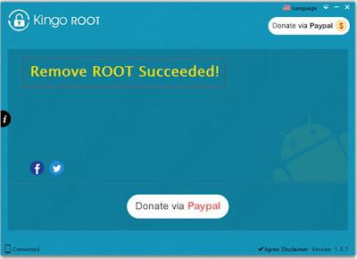 Cara Unroot Oppo Joy R1001 Dengan Kingo ROOT