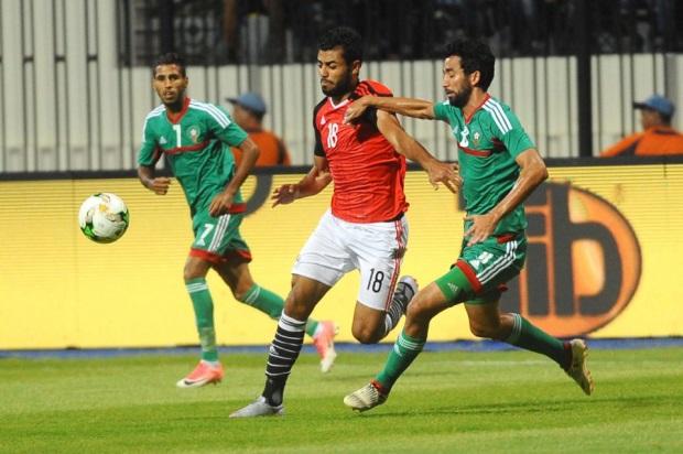 منتخب مصر للمحليين يشارك في البطولة بعد خروجه من التصفيات امام المغرب بسبب سحب البطولة من كينيا