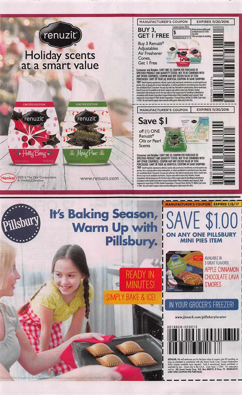 The coupons included in an insert do vary by region, if you do not see a coupon in the pictures then it is not available in this insert in my area. So please look them .
