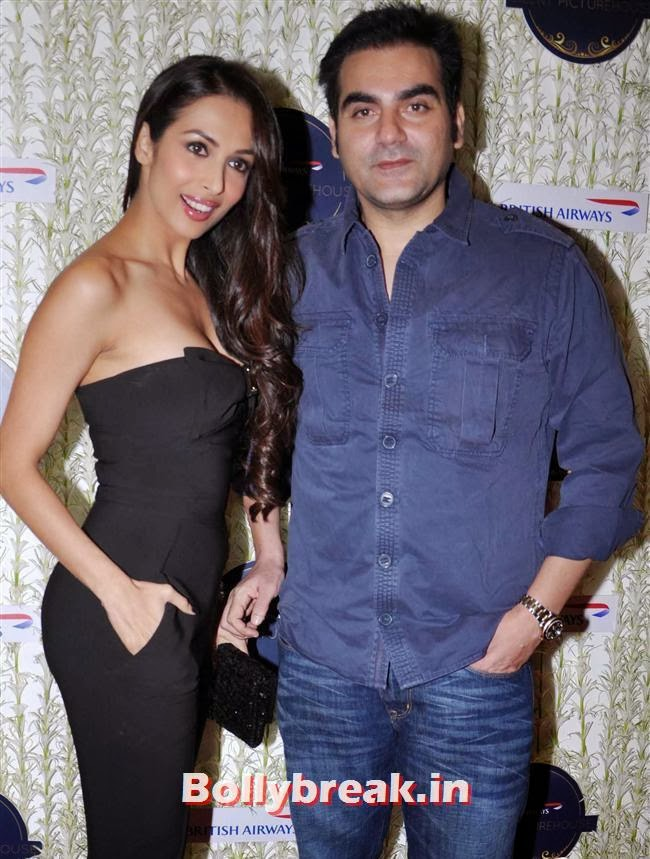 Malaika Arora and Arbaaz Khan, Malaika, Chitrangada at British Airways 'Silent Picturehouse' in Mumbai
