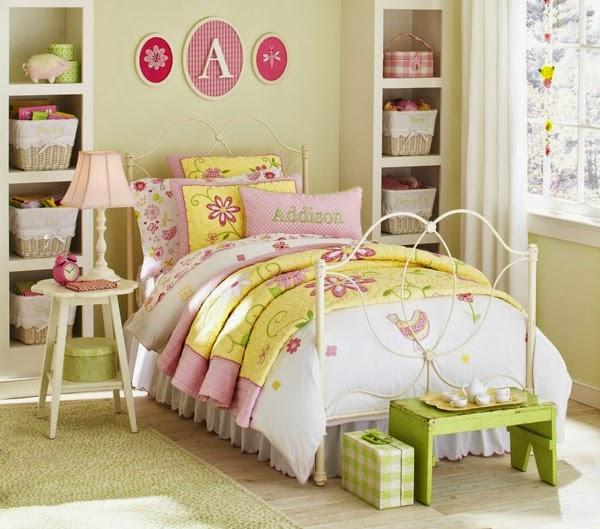 Dormitorios para ni as en colores pastel dormitorios for Cuartos de nina vintage