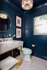 live laugh decorate: my ongoing love affair with navy blue