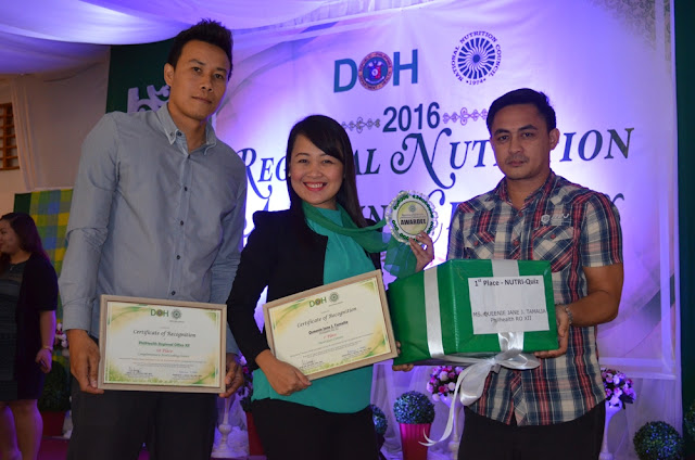 PhilHealth XII Receives Awards from NNC & DOH